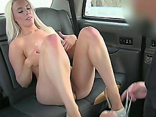 Horny Blondie Customer Bangs Hard And Appreciates Messy Creampie
