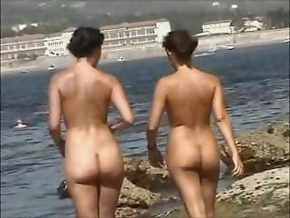 Nudist Beach Butt