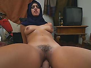 Stunning Arab Princess With Perky Boobs Bounces On Hard Dick