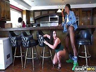 Bangbros - Busty Babe Angela White S Big Tits On Monsters Of Cock