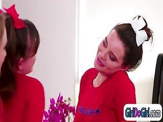 Alison N Maya Seduce Cheerleader Captain
