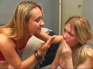 Brasiliansk, Dominerende, Lesbisk, Slik, Fisse