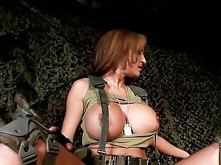 Big Boob, Boob, Masturbation, Military
