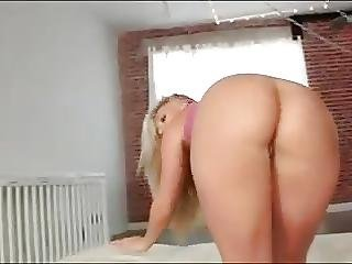 Babe, Blonde, Cheerleader, Hardcore, Teen, Yoga