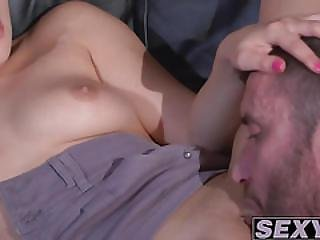 Sensual Love Making With Her Handsome Man Pleases Horny Ally