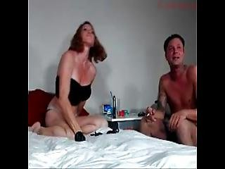 Sexy Girl Deepthroating And Ass Fuck