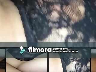 Black Panties And Pussy