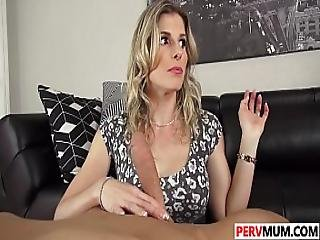 Son Bangs His Sexy Stepma Cory Chase