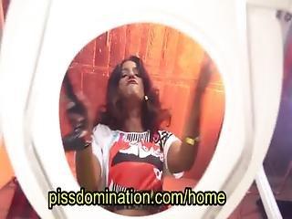 Bossy Delilah Femdom Toilet Slave