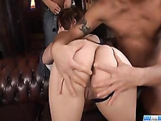 Ririsu Ayaka Hot Mom Blows On Two Big Cocks