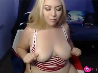 Slutty Busty Blonde Natasha With Amazing Huge Ass