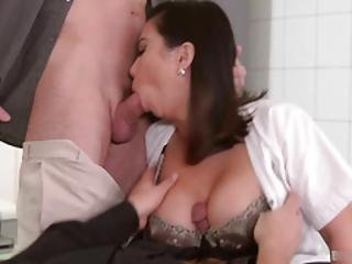 Dr. Long Cock Has Just About Had It With Naughty Nurse Tigerr Benson