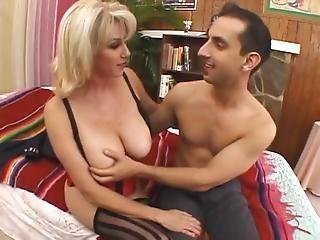 Milf With Big Natural Tits Get Hard Fucked