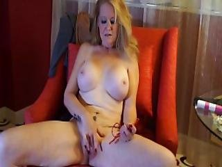Beads, ξανθιά, σκοτεινό, πόδια, αυνανισμός, ώριμη, Milf, γυμνό, μουνί, παιχνίδια