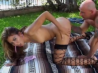 Exotic Whore Fucked Bareback By Raging Cock