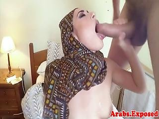 Cum Tasting Muslim Beauty Fucked From Behind