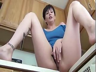 Step Mom Teaching Sex To Her Son