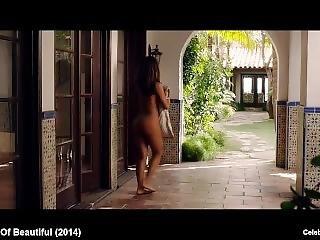 ano, babe, ano grande, celebridad, flashing, desnudo