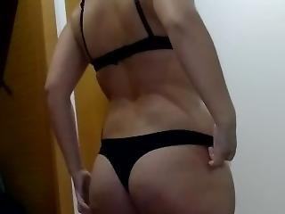 Wife Undressing Herself