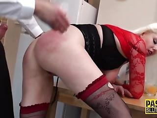 Spanked And Fingered Sub