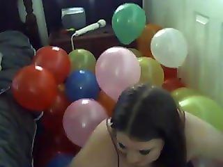 Glitch Matrix Sucks And Fucks In A Pile Of 300 Balloons