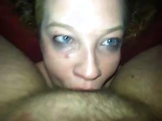 Stupid Ex Gf Meth Whore Sondra Getting Her Facefucked