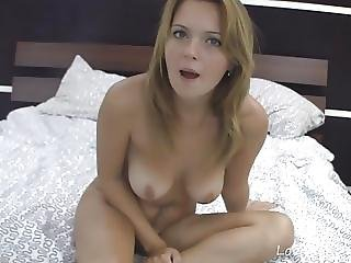 Busty Teen Drills Her Ass With A Toy