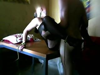 κώλος, μεγάλος κώλος, ξανθιά, Bondage, έγγυος, δούλος, Webcam