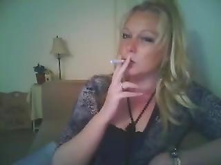 Cougar Smoking