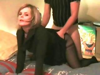 On Her Knees