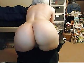 amateur, cul, belle, gros cul, embêter, Ados, webcam