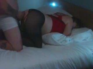 Fucking The Wife Doggy And Cumming On Her Arse