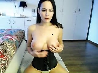 Insanely Beautiful Milf Strips On Cam! - Teenwetcam.com