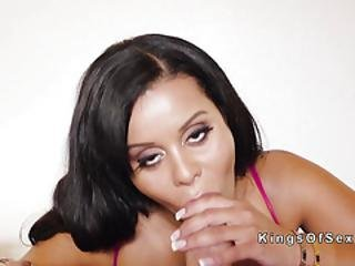 Huge Tits Latina Maid Fucks Huge Dick