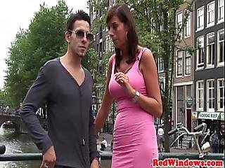 Real Amsterdam Prostitutes In Threeway