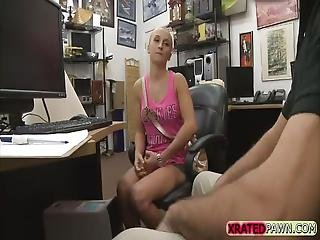 Nasty Babe Sadie Leigh Gets Fucked Hard On The Table