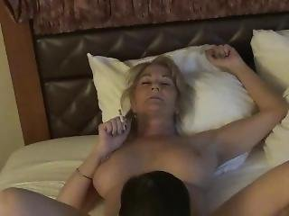 Big Tits Smoking Mature Gigijuggs Milf Pussy Being Licked Cigarette
