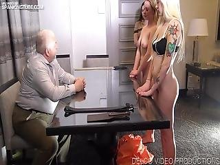 Spanked For Selling Contraband