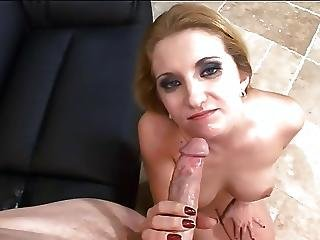Horny Milf Squirts Kitchen Gets Cock Anal
