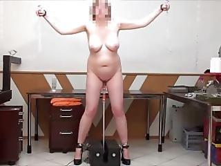 Standing Sex Machine Fuck