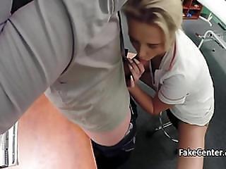 Hot Nurse Solves Penis Problems