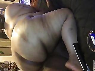 뚱보, 바닷가, 검정, 엉덩이
