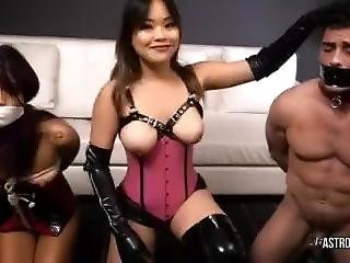 Couple Bound And Gagged Sell For A Sex Slave