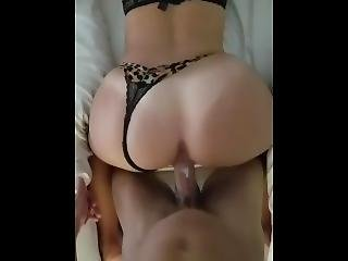 Sexy Teen With  Great Ass Getting Fucked Cum On Ass