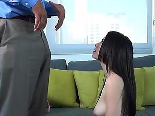 Young Veronica In Hardcore Casting
