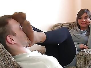 Nylon Feet Worship