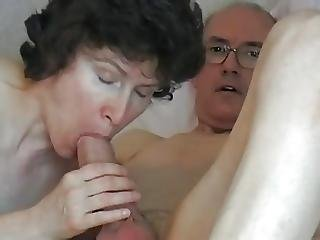 Amateur, Grosse Bite, Pipe, Grand-père, Mature, Milf, Avale