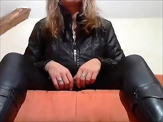 German Mistress Tease