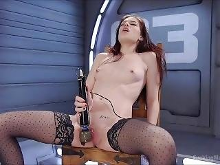 Hot Gotic Milf And Her Toy