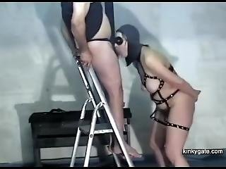 My Slave Trained As Cock Suck Machine